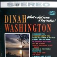 Dinah washington [WHAT A DIFFRENCE A  DAY MAKES] MERCURY MG20479 SR60158