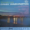 Dinah washington [FOR LONELY LOVERS] MERCURY MG20614 SR60614