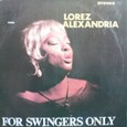 Lorez Arexandria「For Swingers Only」Argo720