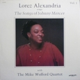 Lorez Arexandria 「The Songs Of Johnny Mercer Vol.1」Discovery DS826