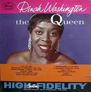 Dinah washington [THE  QUEEN] MERCURY MG20439 SR60111