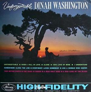 Dinah washington UNFORGETTABLE MERCURY MG20572 SR60232