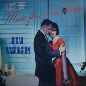 Dinah washington [MUSIC FOR LATE HOURS] MERCURY MG20120