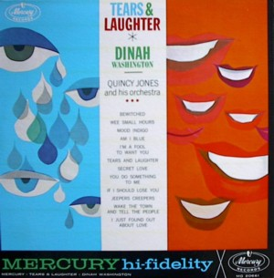 Dinah washington [TEARS AND LAUGHTER] MERCURY MG20661 SR60661