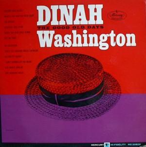 Dinah washington [THE GOOD OLD DAYS] MERCURY MG20829 SR60829