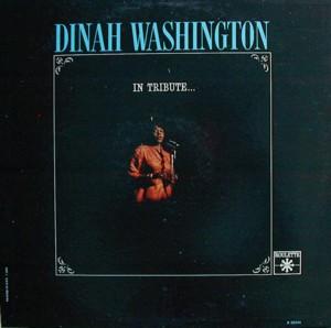 Dinah washington [IN TRIBUTE] ROULETTE R25244