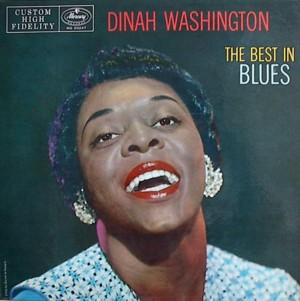 Dinah washington [THE BEST IN BLUES] MERCURY MG20247