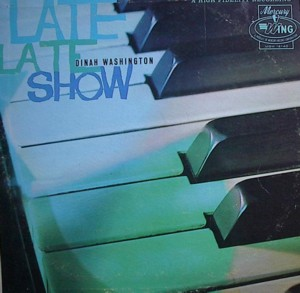 Dinah washington [LATE LATE SHOW] WING MGW12140