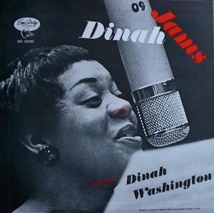 Dinah washington [DINAH JAMS] MERCURY MG36000