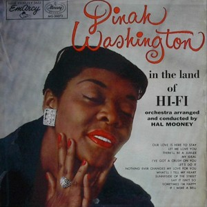 Dinah washington [IN THE LAND OF HI-FI] EMARCY MG36073