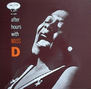Dinah washington [AFTER HOURS WITH MISS D] MERCURY MG36028