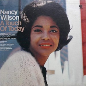 NANCY WILSON [ A TOUCH OF TODAY ] CAPITOL T2425