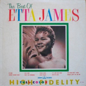 Etta James「The Best Of Etta James」Crown CLP5234