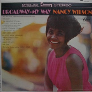 NANCY WILSON [ BROADWAY- MY WAY ] CAPITOL T1828