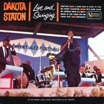 Dakota Staton [Live And Swinging] United Artists UAL 3312