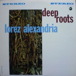 Lorez Arexandria「Deep Roots」Argo LP694