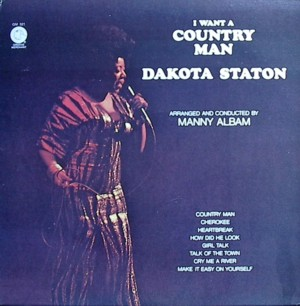 Dakota Staton [I Want A Country Man] Groove Merchant GM521