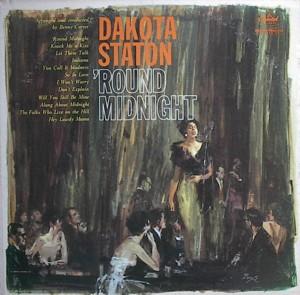 Dakota Staton ['Round Midnight] Capitol T1597