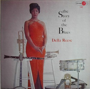 DELLA REESE THE STORY OF THE BLUSE  JUBILEE JGM1095