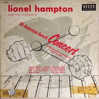 Lionel Hampton [All American Award Concert]Decca DL8088