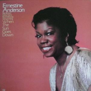 Ernestine Anderson[When The Sun Goes Down] Concord CJ263