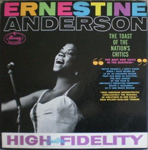 Ernestine Anderson  [ The Toast Of The Nation's Critics] Mercury MG20400