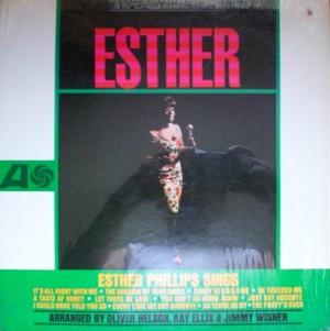 Esther phillips [Esther Phillips Sings」 Atlantic SD 8122