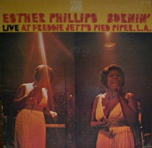 Esther Phillips 「Live At Freddie Jett's Pied Piper L.A.」Atlantic SD-1560