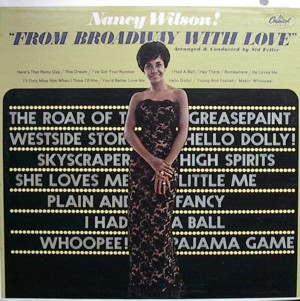 NANCY WILSON [ FROM BROADWAY WITH LOVE ] CAPITOL T2433