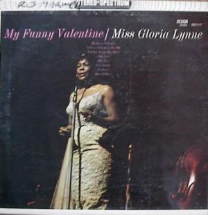 Gloria Lynne [ My Funny Valentine] Design DLP 177