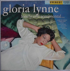 Gloria Lynne [ Lonely  And  Sentimental ] Everest SDBR 1063