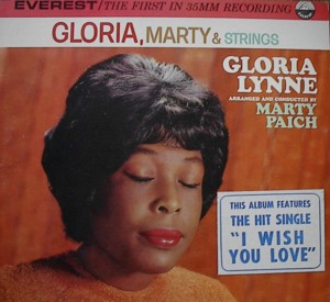 Gloria Lynne [ Gloria, Marty & Strings] Everest LPBR 5220