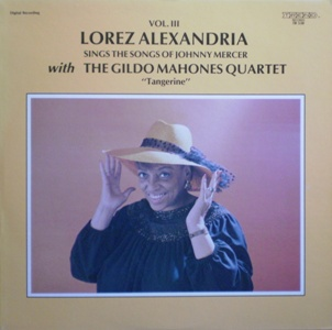 Lorez Alexandria 「The Songs Of Johnny Mercer Vol.3 Tangerine」 Trend TR538