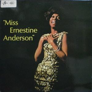 Ernestine Anderson「Miss Ernestine Anderson」Columbia EMI SX6145