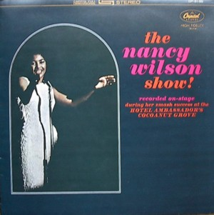 NANCY WILSON [ THE NANCY WILSON SHOW ] CAPITOL SK T2136