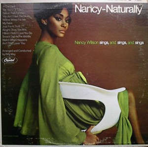 NANCY WILSON [ NANCY-NATURALLY ] CAPITOL T2634