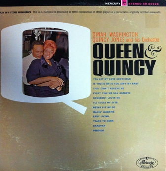 Dinah washington [QUEEN & QUINCY] MERCURY MG20298 SR60298