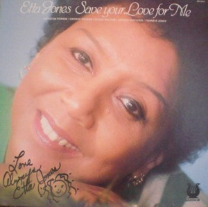 Etta Jones 「Save Your Love For Me」 Muse 5214