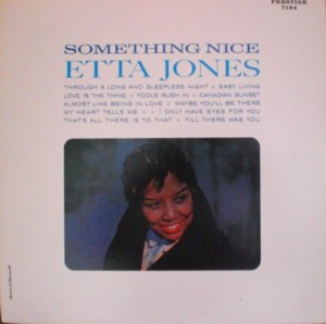 Etta Jones「Something Nice」 Prestige 7194