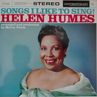 Helen Humes [Songs_I_Like_To_Sing!]Contenporary S7582