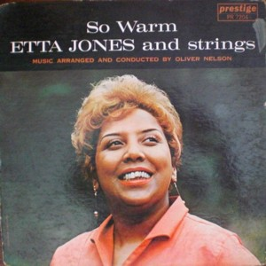 Etta Jones 「So Warm」Prestige 7204