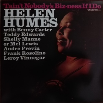 Helen Humes[Tain't_Nobody's_Biz-ness If I Do]Contenporary S7571