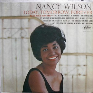 NANCY WILSON [ TODAY,TOMORROW,FOREVER ] CAPITOL T2082