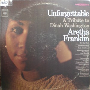 Aretha Franklin [Unforgettable A Tribute To Dinah Washington]Columbia CL2163