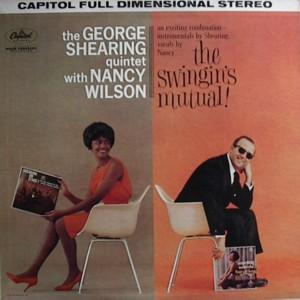 NANCY WILSON [ THE SWINGIN'S MUTUAL] CAPITOL ST1524