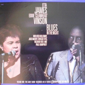 Etta James 「Blues In The Night」 Fantasy F9647