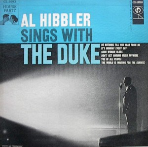 Al Hibbler 「Sings With The Duke」Columbia CL2593