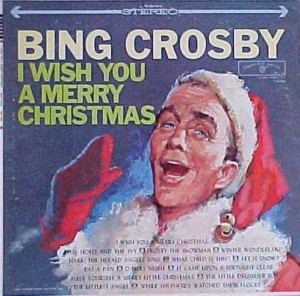 ★ Bing Crosby 「I Wish A Merry Christmas」Warner Bros 1484