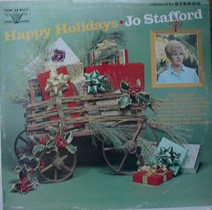 ★ Jo Stafford[Happy Holiday」Vocalion VL73856