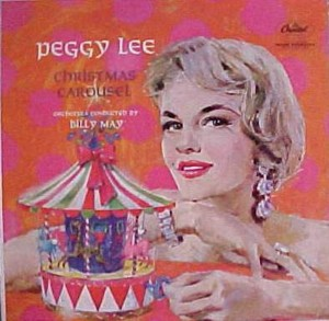 ★ Peggy Lee「Christmas Carousel」Capitol T1423